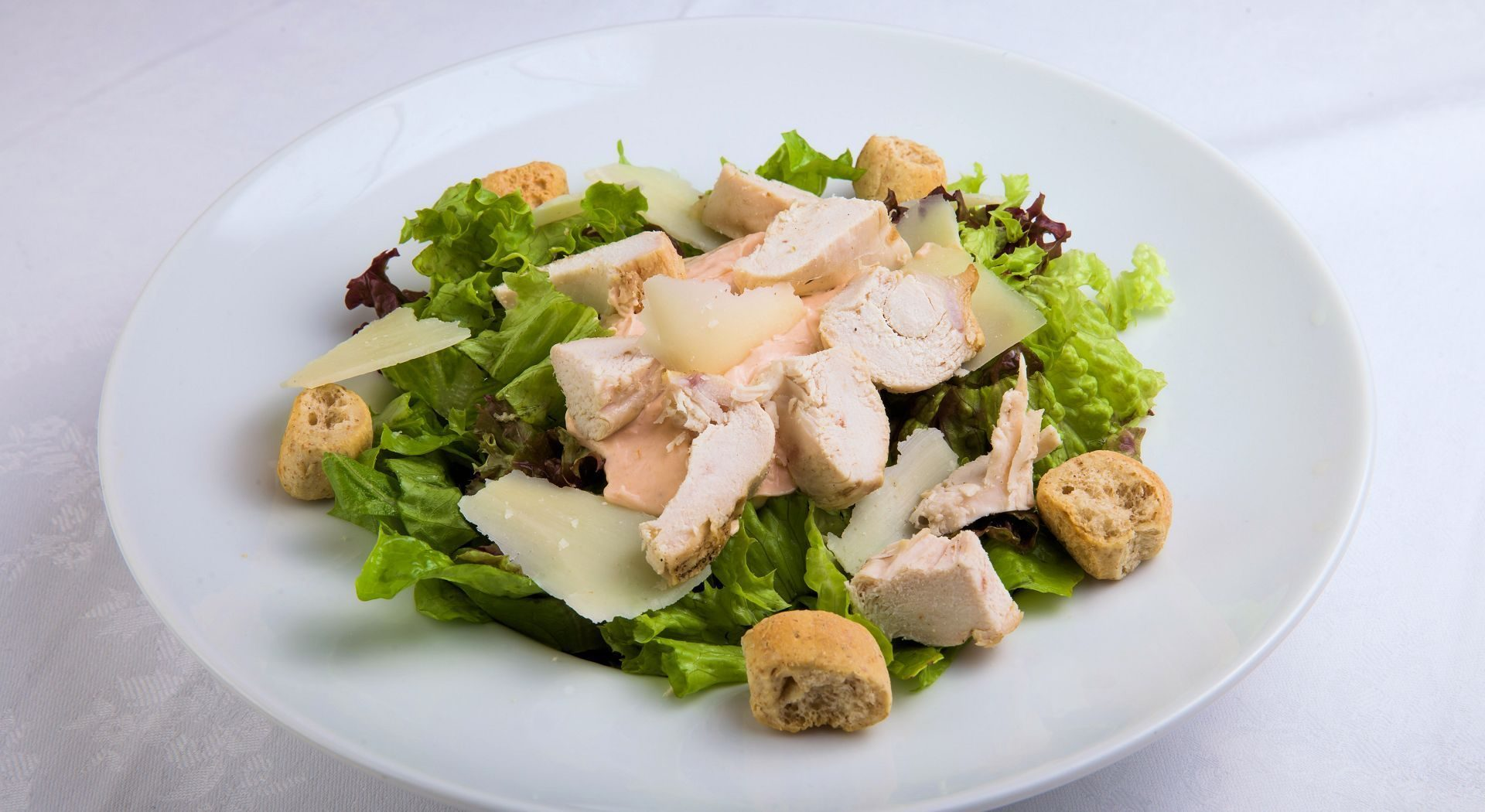 Ceasar Salad: 4,50 €